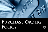 Purchase Orders Policy